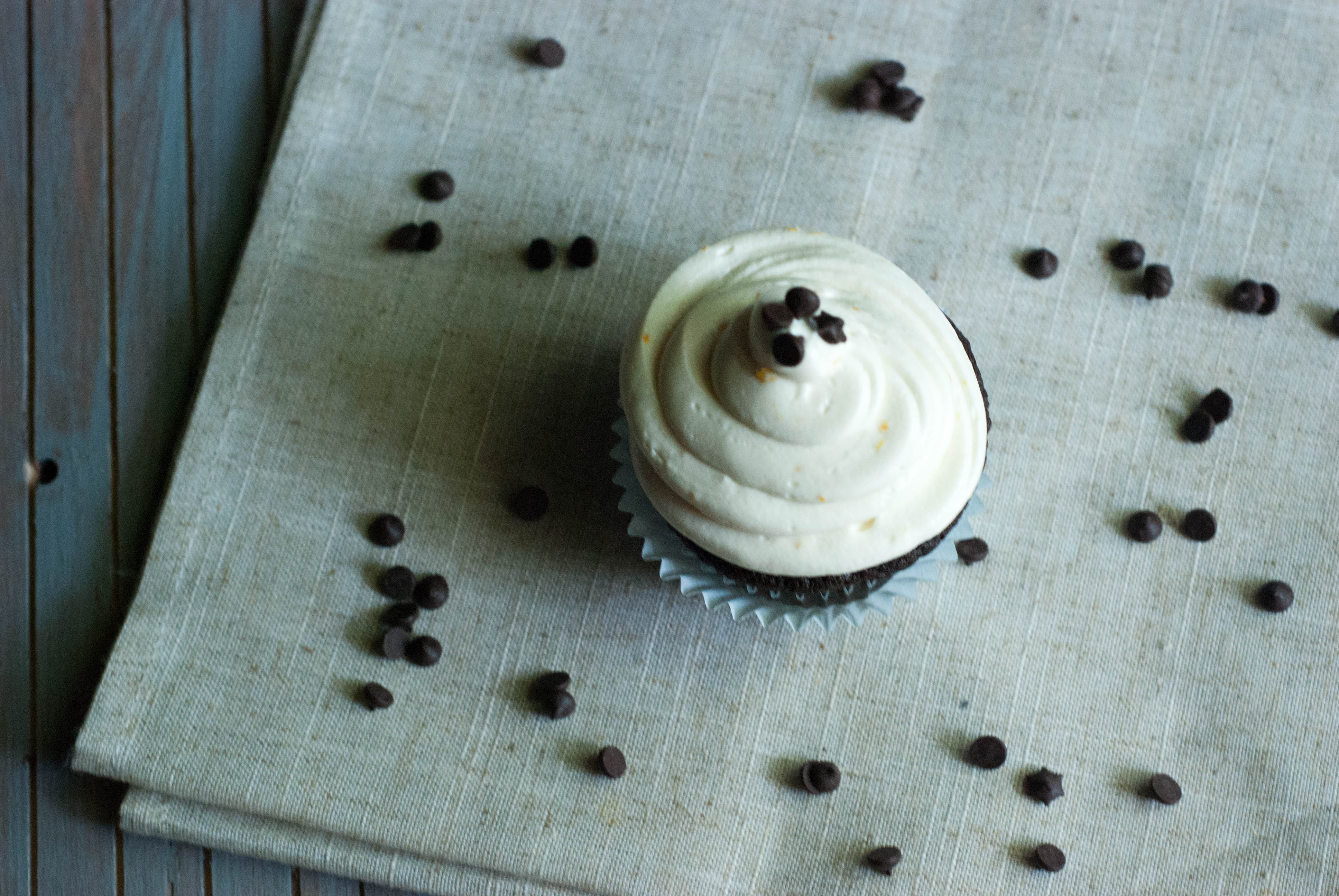 Whole Wheat Chocolate Cupcakes with Cream Cheese Icing ...